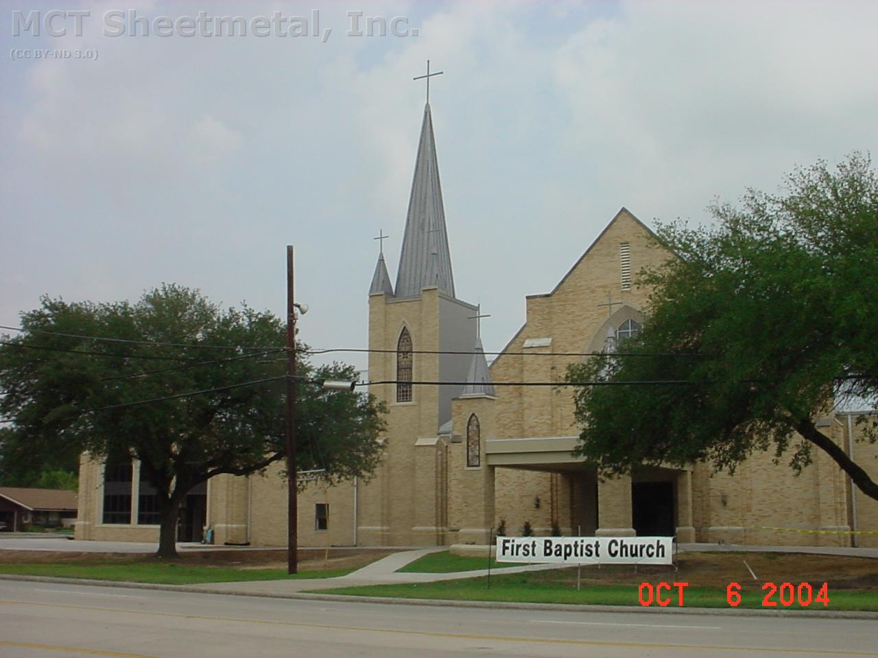 First Baptist Church Port Neches Mct Sheet Metal Inc